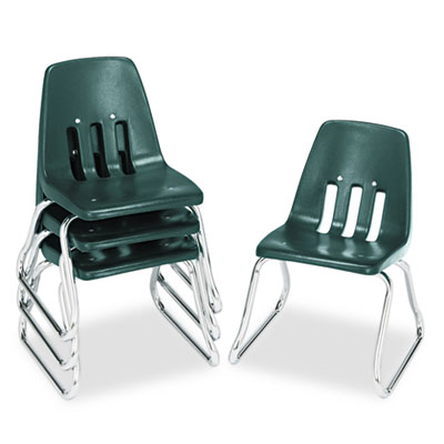 9600 Classic Series Classroom Chairs, 12