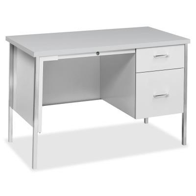 Hon 34000 Series Right Pedestal Desk 45 3 X 24 29 5 1 Shelve S Single On Ri