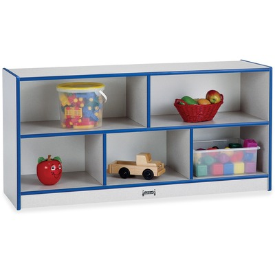 Rainbow Accents Single Storage Units, 48w X 15d X 24-1/2h, Blue/Freckled Gray