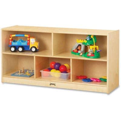 Jonti-Craft Toddler Single Mobile Storage Unit - 5 Compartment(S) - 24.5