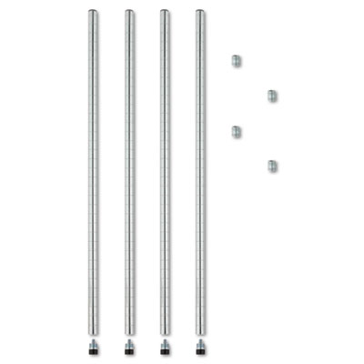 Stackable Posts For Wire Shelving, 36