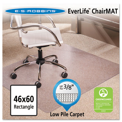 46x60 Rectangle Chair Mat, Multi-Task Series Anchorbar For Carpet Up To 3/8