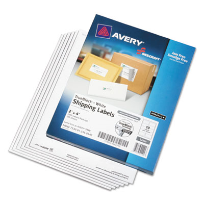 avery 3x5 labels