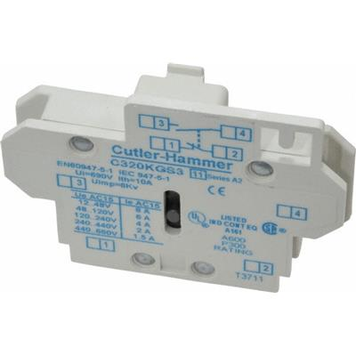 C320KGS3 Cutler-Hammer Auxiliary Contact
