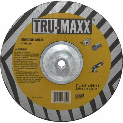 """1//2/"""" Arbor Made in USA 6/"""" 60 Grit Aluminum Oxide Cutoff Wheel 0.06/"""" Thick 1..."""