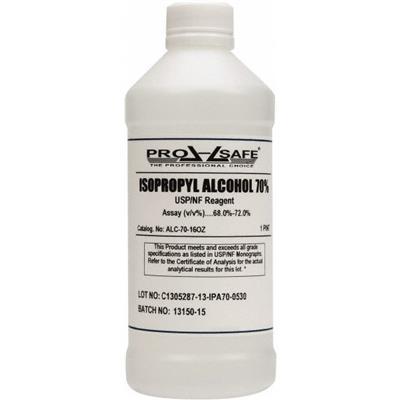 ALC7016OZ : PRO-SAFE Bottle, 70% Isopropyl Alcohol