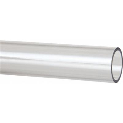 Plastic Round Tube Polycarb... Made in USA 2 Inch Outside Diameter x 1 Ft Long
