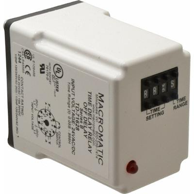 TD71628 : Macromatic 10 Contact Amp, 24 VAC/VDC, Pushbutton